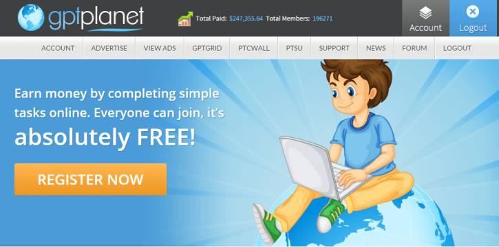GPTPlanet – PTC – Gagner du cash – Accroître la visibilité de vos sites